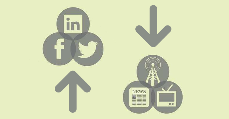 social network media tradizionali