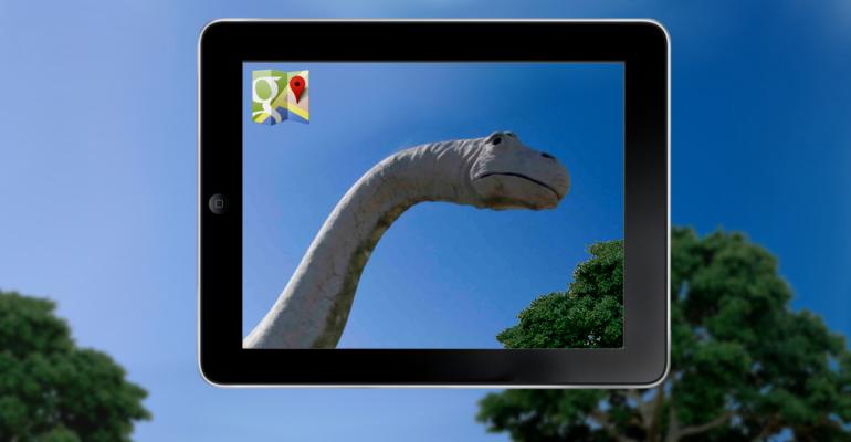 Google maps scopre il mostro di Loch Ness